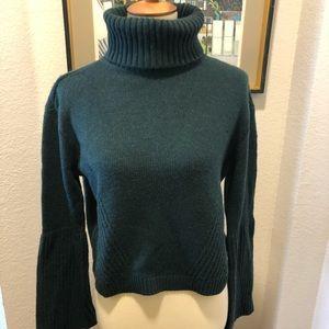 Antonio Melani Cowl Neck Cropped Sweater